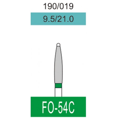 Бор алмазный FO-54C