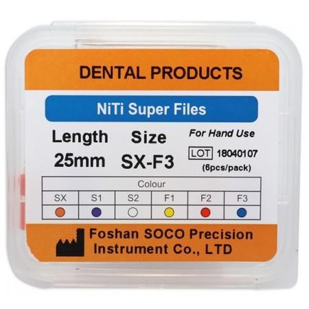 SCF-Niti Super Files ручные